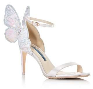 Sophia Webster Women's Chiara Satin High-Heel Sandals