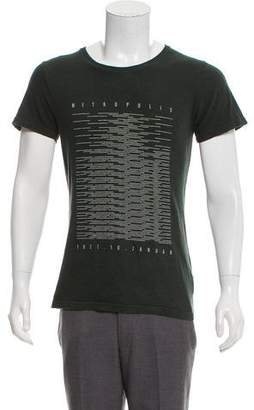 Robert Geller Metropolis Graphic T-Shirt
