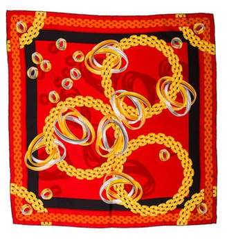 Cartier Silk Printed Scarf