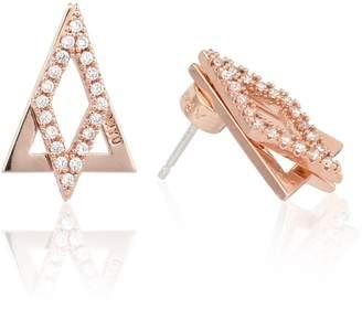 Astrid & Miyu - Diamond Ear Jacket In Rose Gold