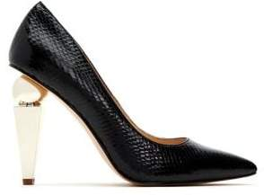 Katy Perry The Memphis Embossed Faux Leather Pumps