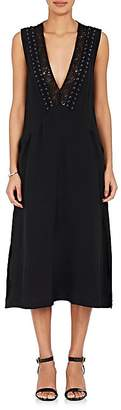 A.L.C. Women's Araya Silk Crepe Midi-Dress