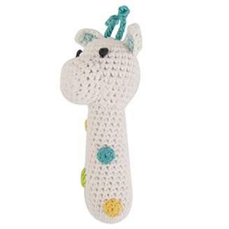 ウィーゴアミーゴ Weegoamigo ラトル 赤ちゃん おもちゃ ガラガラ ぬいぐるみ 新生児 Crochet Rattles Giraffe ジラフ