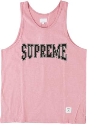 Supreme Collegiate Tank Top - 'SS 15' - Pink