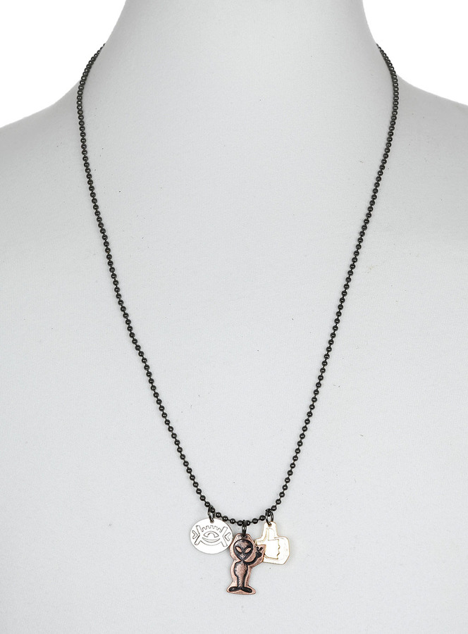Topman Copper Kitsch Charm Necklace