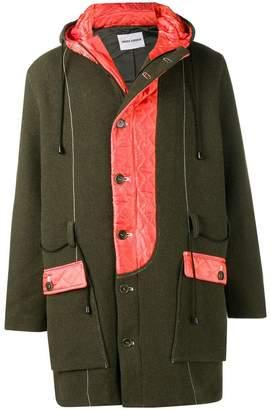 Henrik Vibskov quilted panel coat