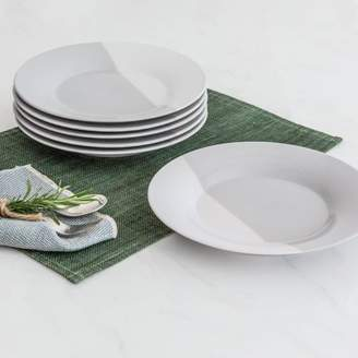 Better Homes & Gardens Better Homes and Gardens Color Dipped Salad Plates, Grey, Set of 6