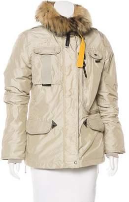 Parajumpers Gobi Fur-Trimmed Jacket