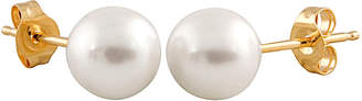 Splendid Pearls 14K 5-5.5Mm Freshwater Pearl Earrings