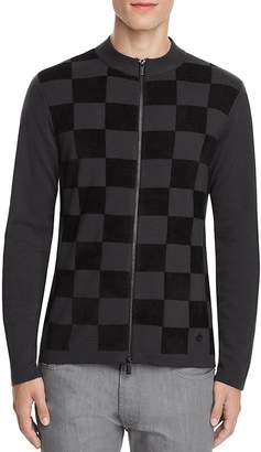 Armani Collezioni Check Sweater $595 thestylecure.com