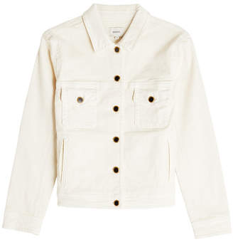Khaite Laura Fitted Denim Jacket
