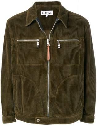 Loewe corduroy shirt jacket