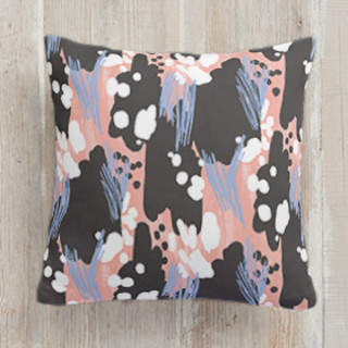 Pop Pattern Square Pillow
