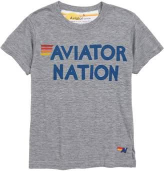 Aviator Nation Words Graphic T-Shirt