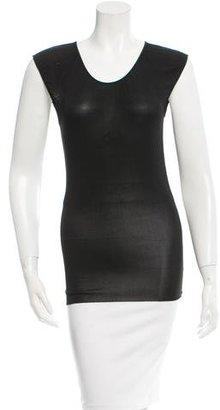 Jean Paul Gaultier Sleeveless Knit Top $65 thestylecure.com
