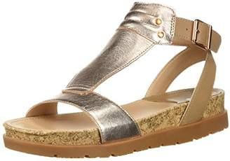 Caterpillar Women's Mystic T Strap Footbed Sandal
