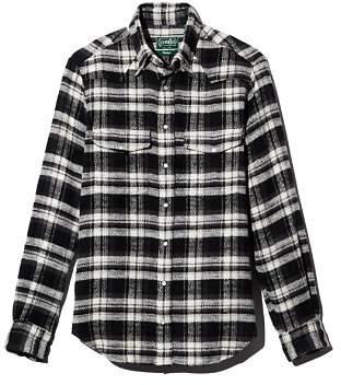 Gitman Brothers Plaid Heavy Flannel Regular Fit Shirt
