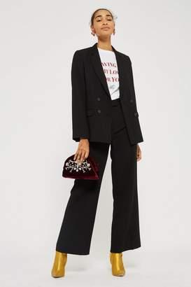 Topshop Slouch Suit Pants