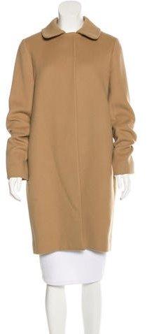 Chloé Chloé Knee-Length Virgin Wool Coat