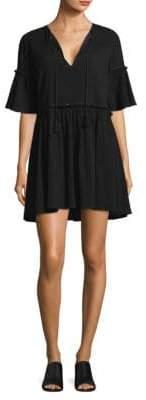 Rebecca Minkoff Helen V-Neck Bell-Sleeve Dress