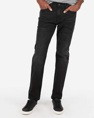 Express Classic Straight Black Wash Stretch+ Jeans