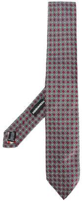 DSQUARED2 floral patterned tie