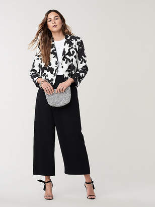 Diane von Furstenberg Macie Cropped Jacket