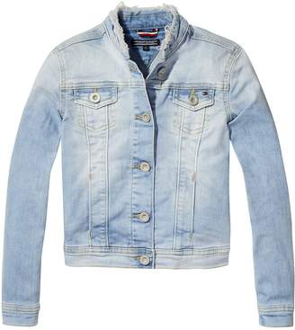 Tommy Hilfiger Girls Denim Trucker Jacket