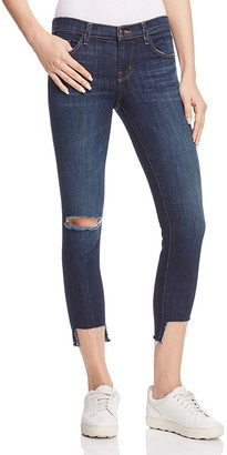 J Brand Crop Jeans in Disguise Destruct $198 thestylecure.com