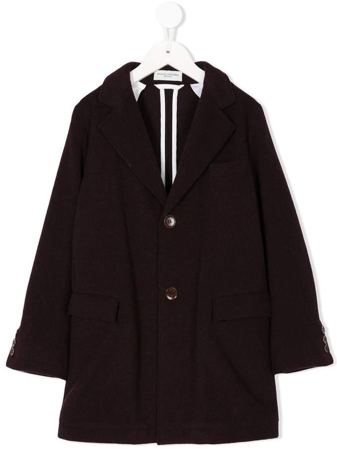 Paolo Pecora Kids single-breasted coat