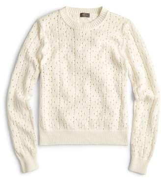 J.Crew Ariel Pointelle Sweater