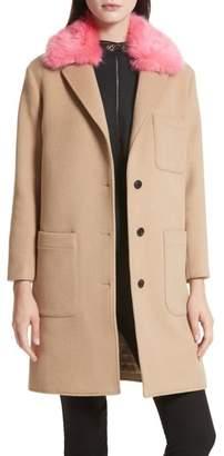Women's Rebecca Minkoff Allegra Wool Blend Coat