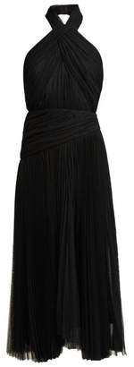 Maria Lucia Hohan Nina Halterneck Tulle Dress - Womens - Black