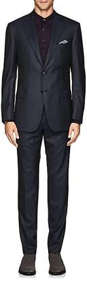 Brioni Men's Plaid Wool Twill Two-Button Suit