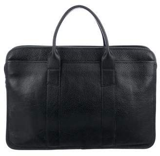 Lotuff Leather Grained Leather Briefase