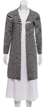 Missoni Woven Open-Front Cardigan