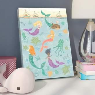 O'Neill Viv + Rae Bridget Mermaids Under the Sea by Tina Finn Stretched Canvas Wall Art