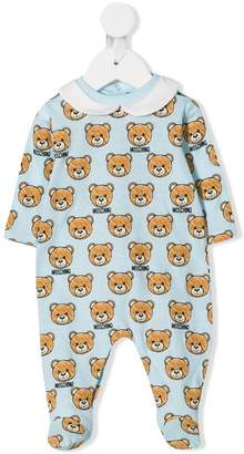 Moschino Kids bear print pajamas