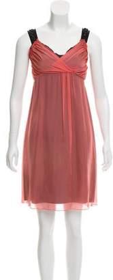 Philosophy di Alberta Ferretti Embellished Mini Dress