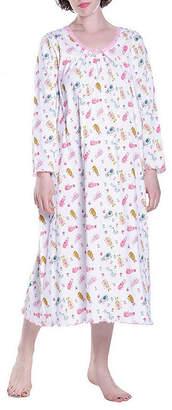 La Cera Long Sleeve Nightgown