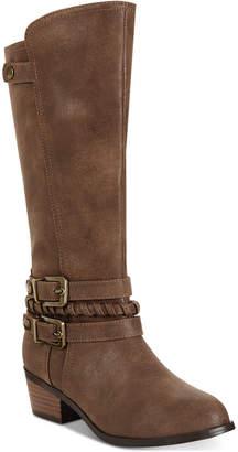 Sugar Little & Big Girls Brownie Tall Riding Boots