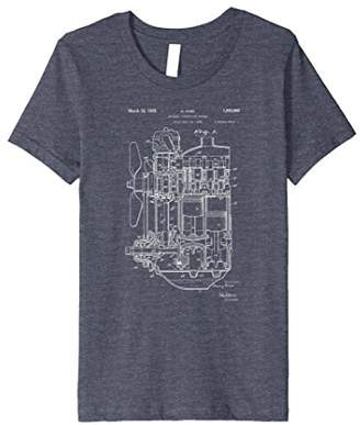 Patent Print 1935 Internal Combustion Engine T-Shirt