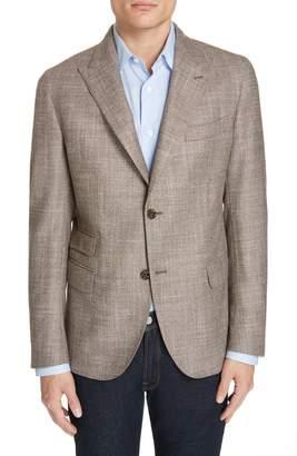 Eleventy Trim Fit Wool Blend Blazer
