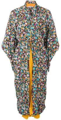 Balenciaga (バレンシアガ) - Balenciaga レイヤード カフタン ドレス