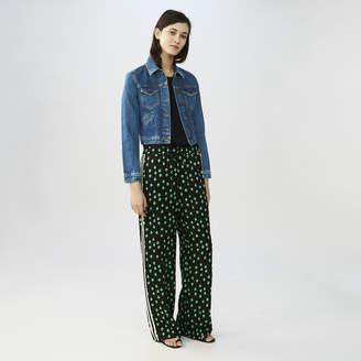 Maje Draped printed pants