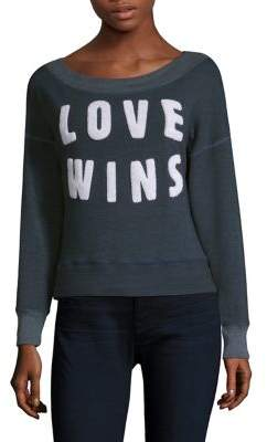 Sundry Love Wins Pullover