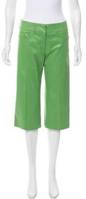 Fendi Cropped Mid-Rise Pants