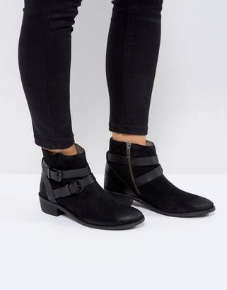 H By Hudson Meeya Suede Ankle Boots