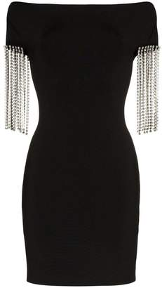 Christopher Kane crystal embellished mini dress