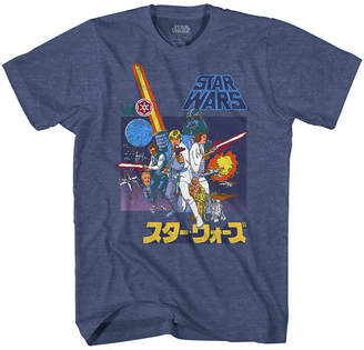 Star Wars Novelty T-Shirts Retro Scene Graphic Tee